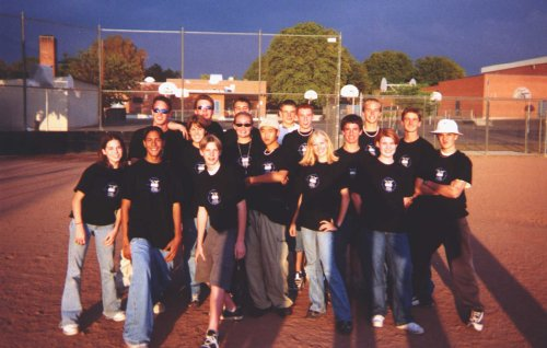 Mesquite High School Trumpet Line 2000